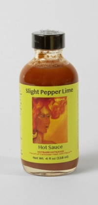 slightPepperLime Hot Sauce